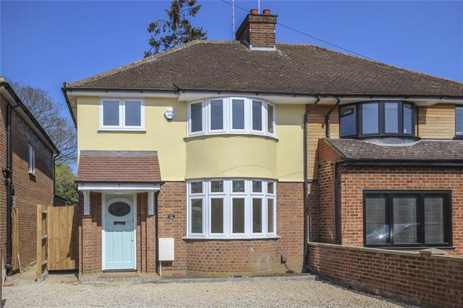 Asking Price £675,000, 3 Bedroom Semi Detached House For Sale in Harpenden, AL5