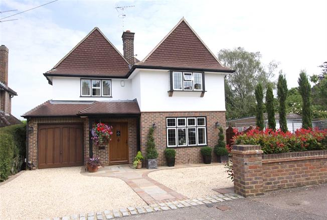 Guide Price £1,500,000, 4 Bedroom Detached House For Sale in Harpenden, Hertfordshire, AL5