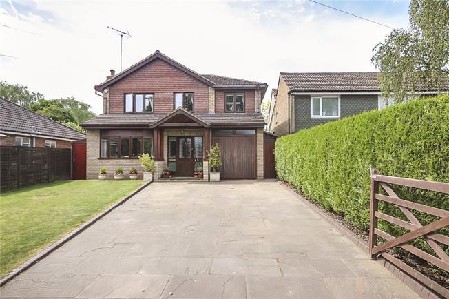 Guide Price £925,000, 4 Bedroom Detached House For Sale in Harpenden, AL5