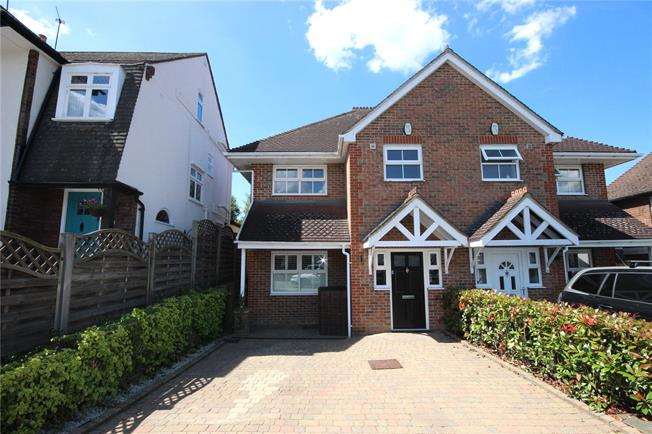 Guide Price £850,000, 4 Bedroom Semi Detached House For Sale in Harpenden, AL5