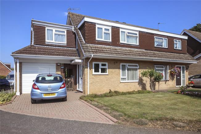 Guide Price £625,000, 4 Bedroom Semi Detached House For Sale in Hertfordshire, AL5