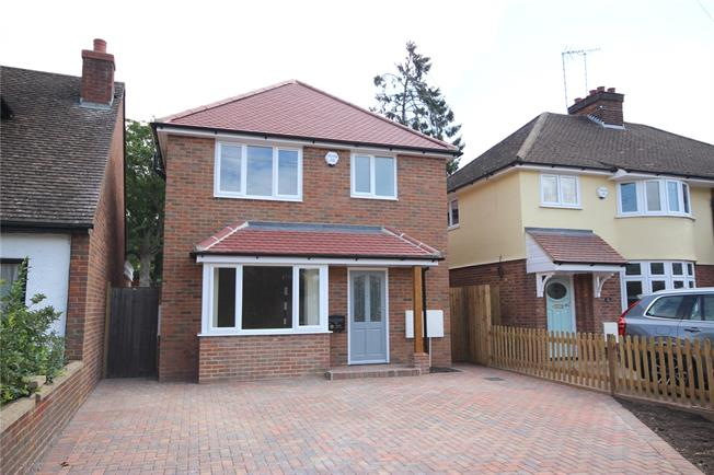 Guide Price £750,000, 3 Bedroom Detached House For Sale in Harpenden, Hertfordshire, AL5