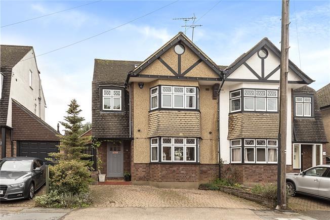 Asking Price £875,000, 5 Bedroom Semi Detached House For Sale in Harpenden, Hertfordshire, AL5
