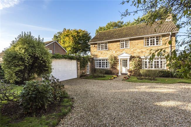 Asking Price £1,250,000, 4 Bedroom Detached House For Sale in Hertfordshire, AL5
