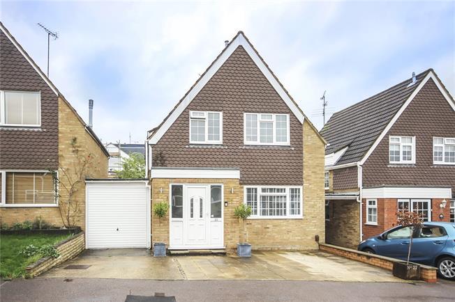 Asking Price £625,000, 3 Bedroom Detached House For Sale in Hertfordshire, AL5