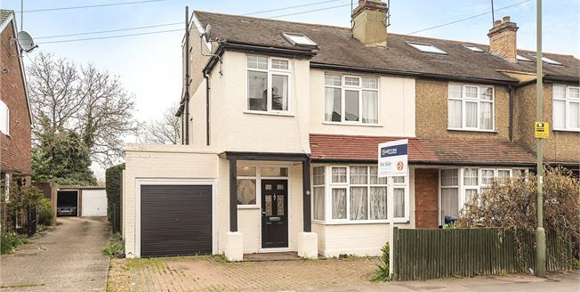 Guide Price £625,000, 4 Bedroom Semi Detached House For Sale in Barnet, EN5