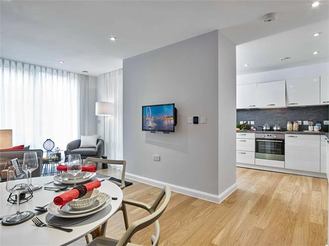 Guide Price £188,000, 2 Bedroom Flat For Sale in Finchley, N12