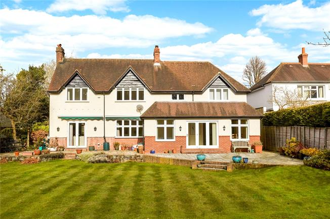 Asking Price £1,250,000, 5 Bedroom Detached House For Sale in Surrey, RH2
