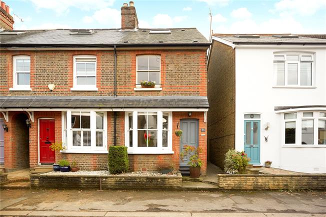 Offers in excess of £600,000, 3 Bedroom End of Terrace House For Sale in Reigate, RH2