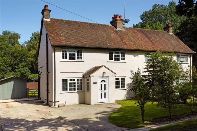 Asking Price £425,000, 3 Bedroom Semi Detached House For Sale in Redhill, RH1