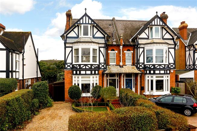 Asking Price £1,595,000, 5 Bedroom Semi Detached House For Sale in Surbiton, KT5