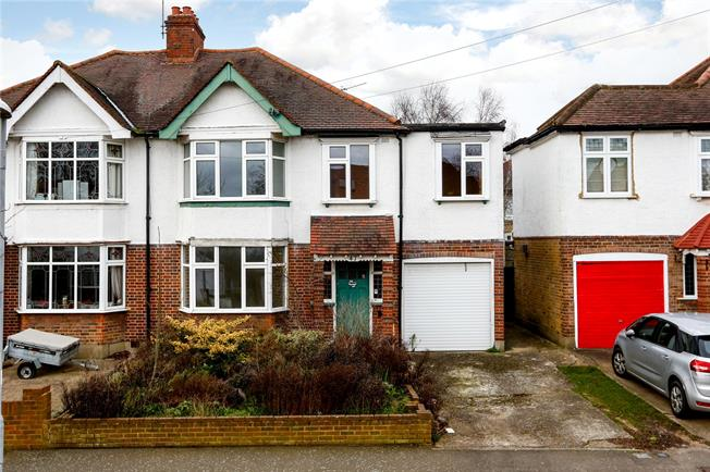Asking Price £650,000, 3 Bedroom Semi Detached House For Sale in Surbiton, KT5