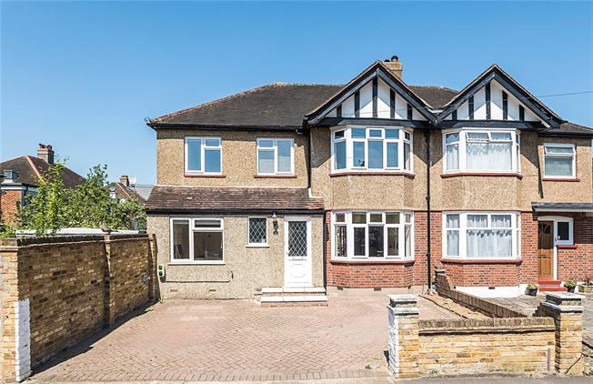 Asking Price £700,000, 5 Bedroom Semi Detached House For Sale in Surbiton, KT5