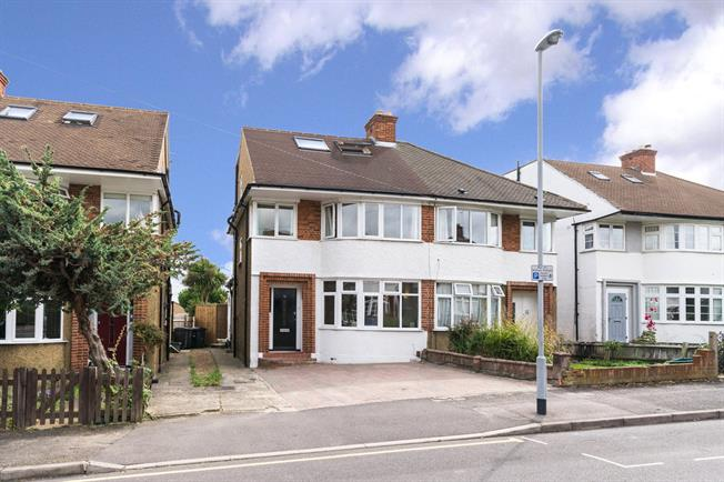 Asking Price £775,000, 5 Bedroom Semi Detached House For Sale in Surbiton, KT5