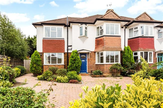 Asking Price £950,000, 4 Bedroom Semi Detached House For Sale in Long Ditton, KT6