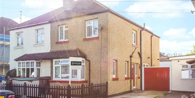 Asking Price £499,999, 3 Bedroom Semi Detached House For Sale in Surbiton, KT6