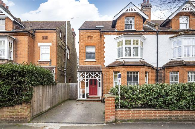 Asking Price £1,650,000, 5 Bedroom House For Sale in Surbiton, KT6