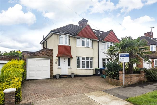 Offers in excess of £700,000, 3 Bedroom Semi Detached House For Sale in Surbiton, KT5