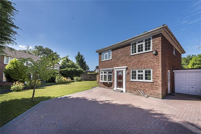 Asking Price £875,000, 4 Bedroom Detached House For Sale in Surbiton, KT6