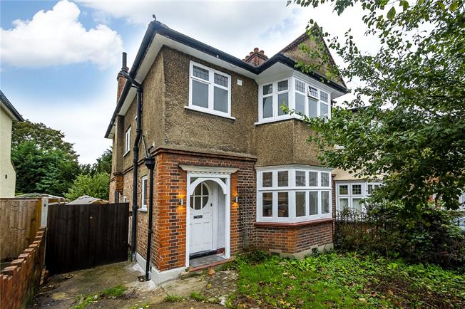 Asking Price £695,000, 3 Bedroom Semi Detached House For Sale in Surbiton, KT5