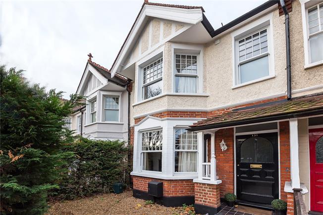 Asking Price £999,999, 5 Bedroom Terraced House For Sale in Twickenham, TW1