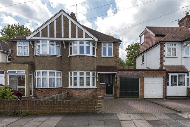 Asking Price £575,000, 3 Bedroom Semi Detached House For Sale in Twickenham, TW2