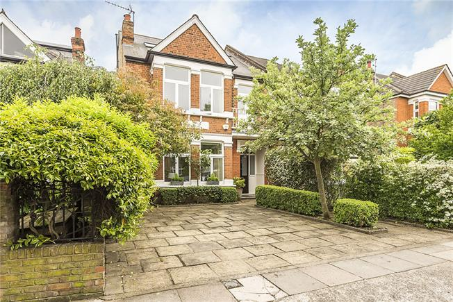 Guide Price £1,695,000, 5 Bedroom Semi Detached House For Sale in Strawberry Hill, TW1