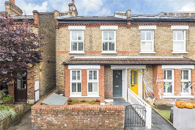 Asking Price £895,000, 4 Bedroom End of Terrace House For Sale in Twickenham, TW2