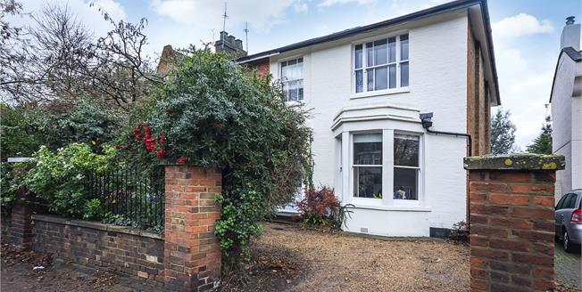Guide Price £1,450,000, 4 Bedroom Semi Detached House For Sale in Twickenham, TW2
