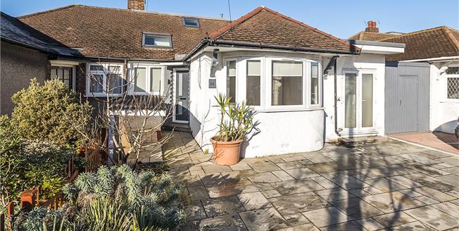Guide Price £635,000, 4 Bedroom Bungalow For Sale in Twickenham, TW2