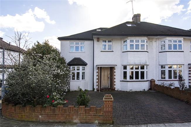 Guide Price £1,199,950, 5 Bedroom Semi Detached House For Sale in Twickenham, TW2