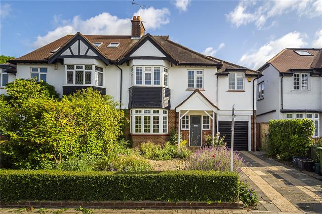 Guide Price £1,295,000, 4 Bedroom Semi Detached House For Sale in Twickenham, TW2