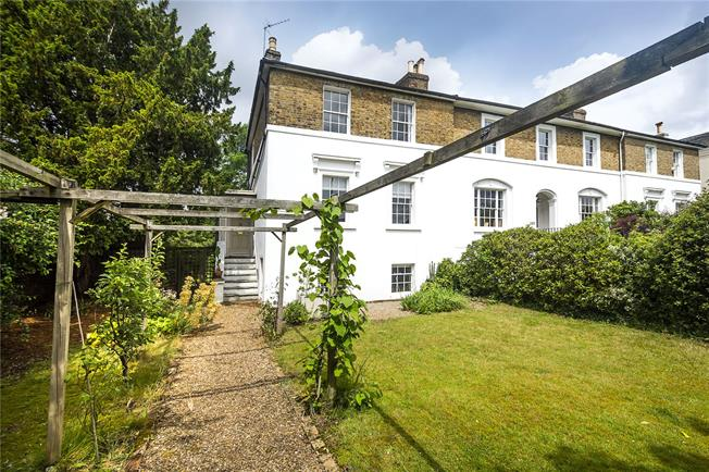 Guide Price £1,595,000, 4 Bedroom End of Terrace House For Sale in Twickenham, TW2