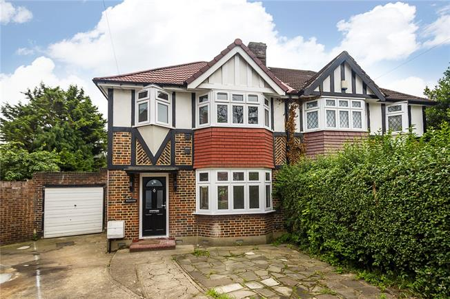 Guide Price £599,000, 3 Bedroom Semi Detached House For Sale in Hounslow, TW3
