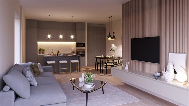 Asking Price £437,000, 2 Bedroom Flat For Sale in Hounslow, Twickenham, TW3