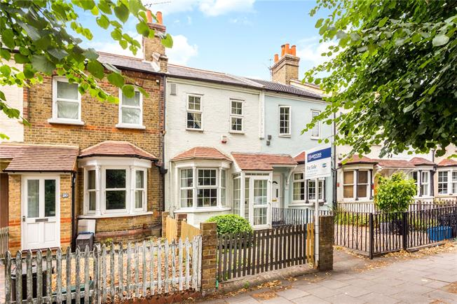 Guide Price £499,000, 2 Bedroom Terraced House For Sale in Hanworth, TW13