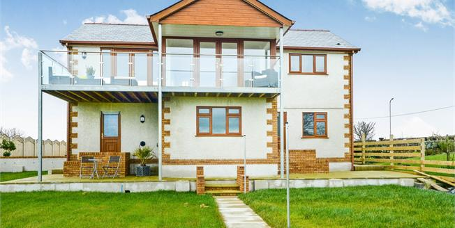 Asking Price £399,950, 4 Bedroom Detached House For Sale in Valley, LL65