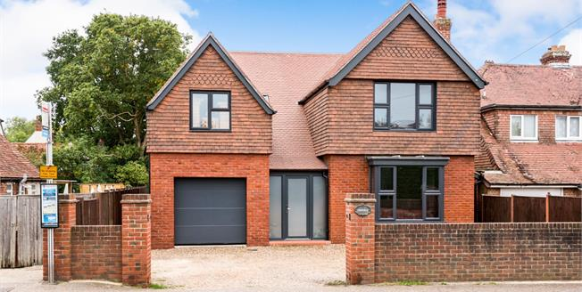 Guide Price £775,000, 5 Bedroom Detached House For Sale in Nutbourne, PO18