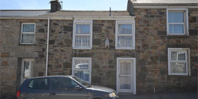Asking Price £125,000, 2 Bedroom Terraced Cottage For Sale in Camborne, TR14