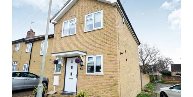 Guide Price £210,000, 2 Bedroom End of Terrace House For Sale in Willesborough, TN24
