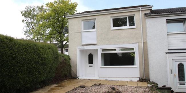 Offers Over £122,000, 3 Bedroom End of Terrace House For Sale in East Kilbride, G74