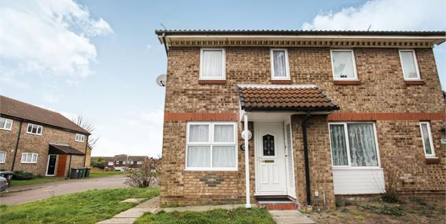 Offers in excess of £210,000, 2 Bedroom Semi Detached House For Sale in Luton, LU3