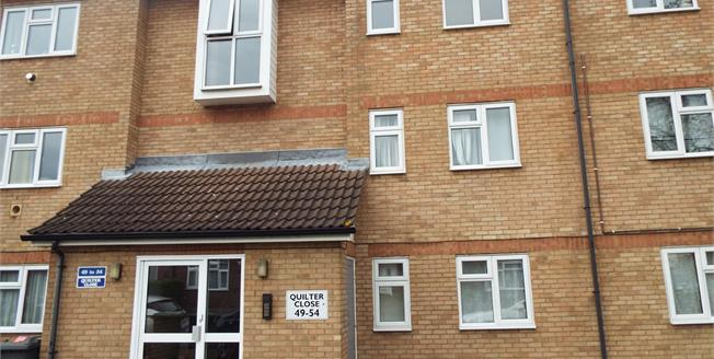 Asking Price £155,000, 2 Bedroom Flat For Sale in Luton, LU3