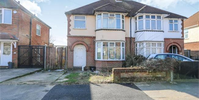 Offers in excess of £275,000, 3 Bedroom Semi Detached House For Sale in Luton, LU2