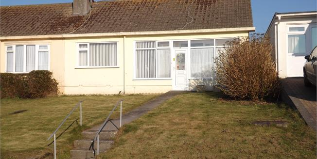 Asking Price £200,000, 2 Bedroom Semi Detached Bungalow For Sale in Newquay, TR7