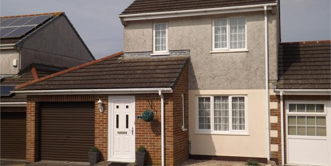 Asking Price £184,950, 3 Bedroom Link Detached House For Sale in St. Columb Road, TR9