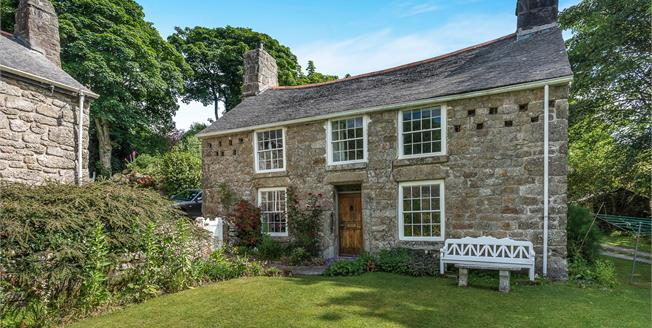 Guide Price £475,000, 4 Bedroom Detached House For Sale in Lamorna, TR19