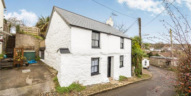 Guide Price £298,000, 2 Bedroom Detached Cottage For Sale in Gulval, TR18
