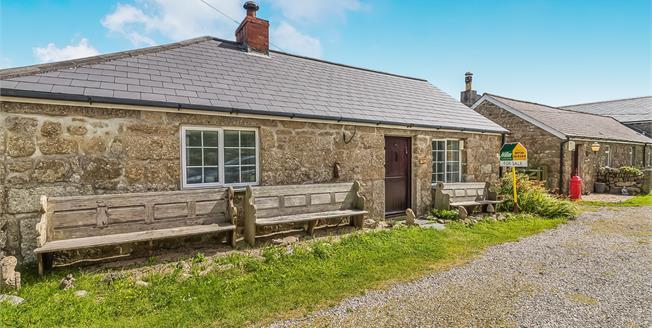 £229,500, 2 Bedroom Semi Detached House For Sale in St. Buryan, TR19