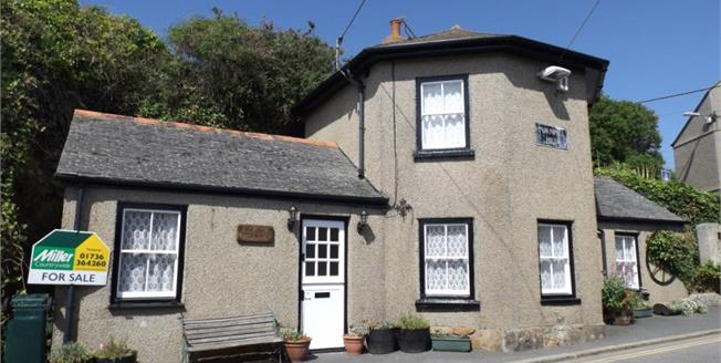 Asking Price £180,000, 2 Bedroom Detached House For Sale in Marazion, TR17